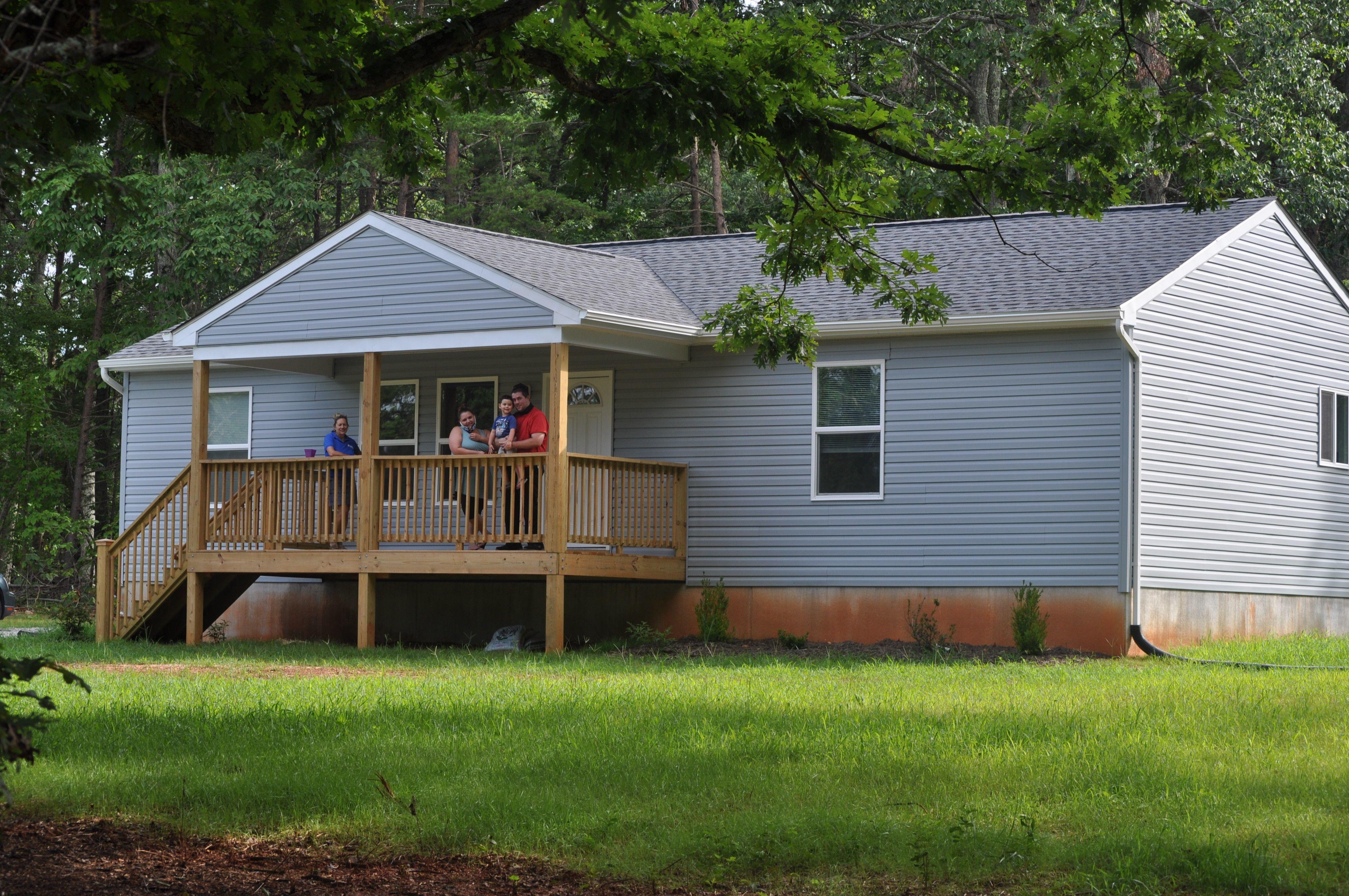 Erin Swinson's home.