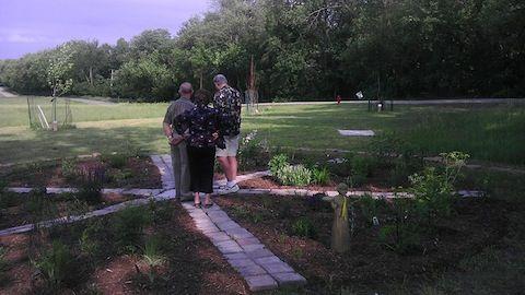 Sunrise Rotary Club Dedicates Butterfly Garden