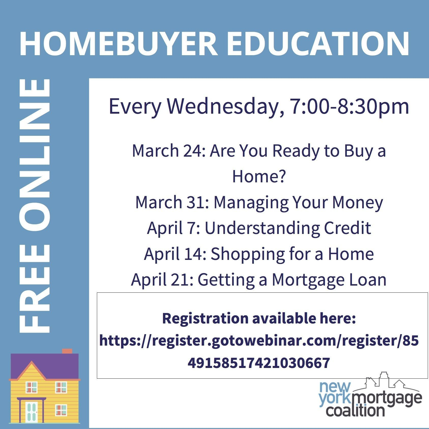 Homebuyer Education Webinar Series