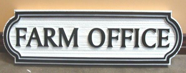 O24834 - Farm Office Sign