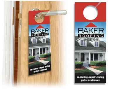 toronto door hanger printing, custom door hangers, marketing door hangers, real estate door hangers