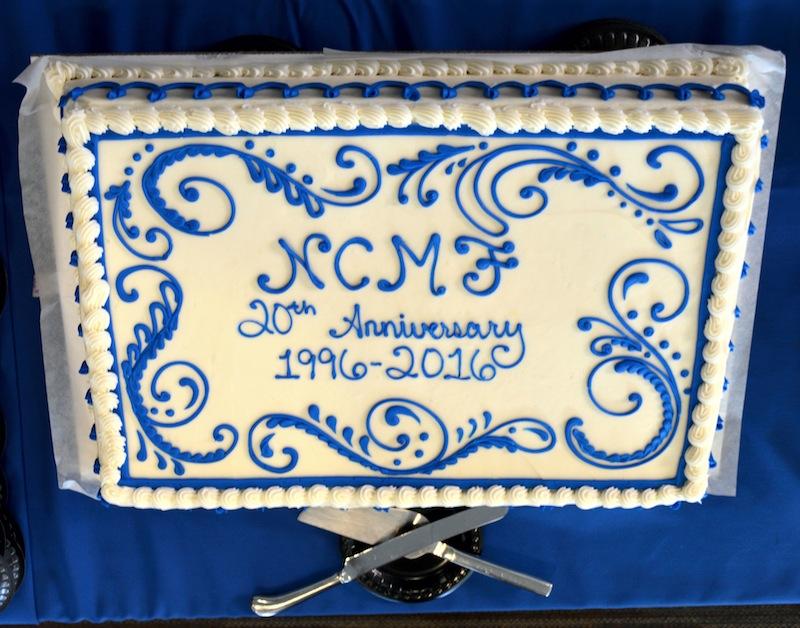 NCMF Anniversary Cake!