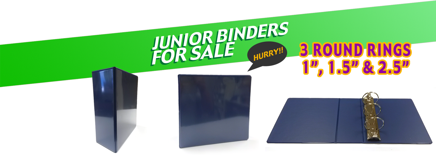 Junior Binders