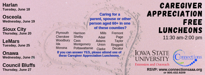 Osceola: Caregiver Appreciation Luncheon