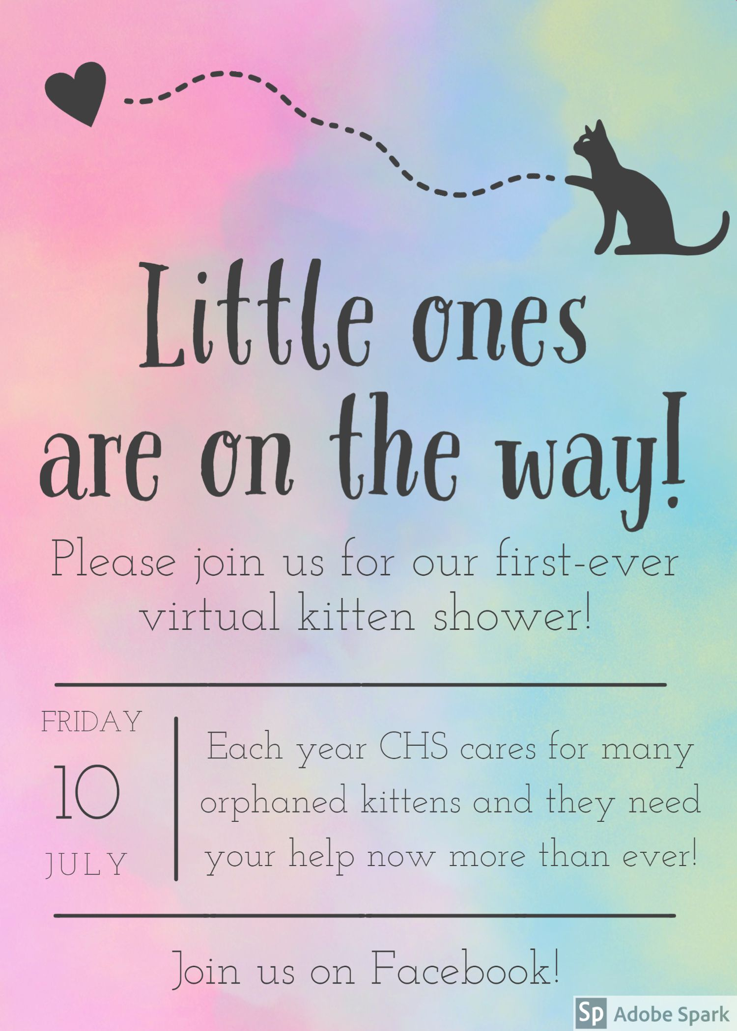 Virtual Kitten Shower