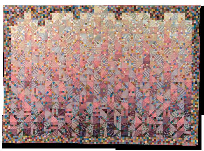 'Number 47,' made by Pamela Studstill, dated 1985, 60.5 x 85 in, IQSCM 1997.007.1061