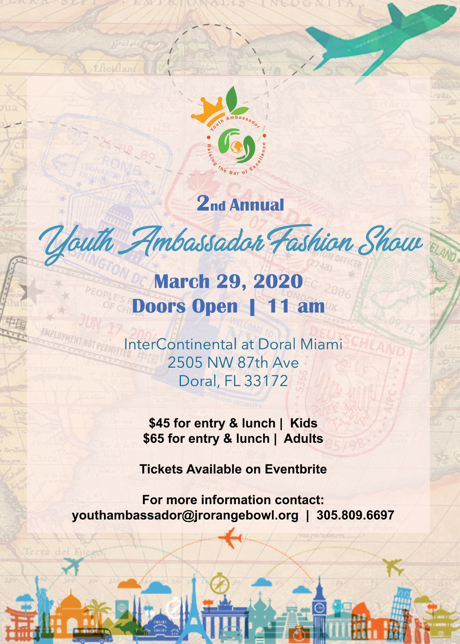 [Postponed} Youth Ambassador Fashion Show