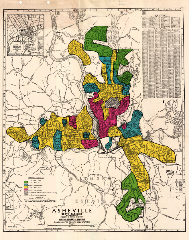 """Don't Miss: """"Redlining in Asheville: Racism Disguised as Housing Policy"""""""