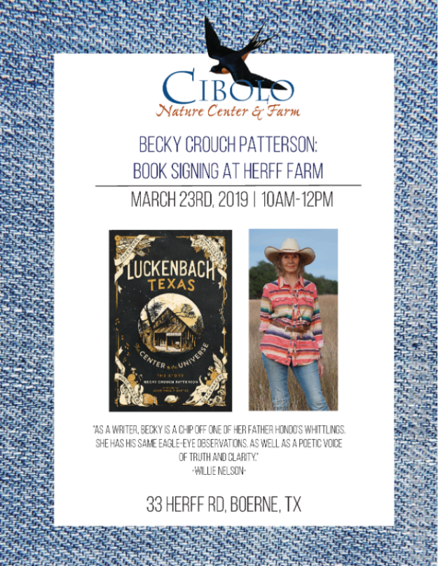 FARM: Becky Crouch Patterson Book Signing