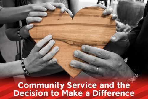 Community Service and the Decision to Make a Difference