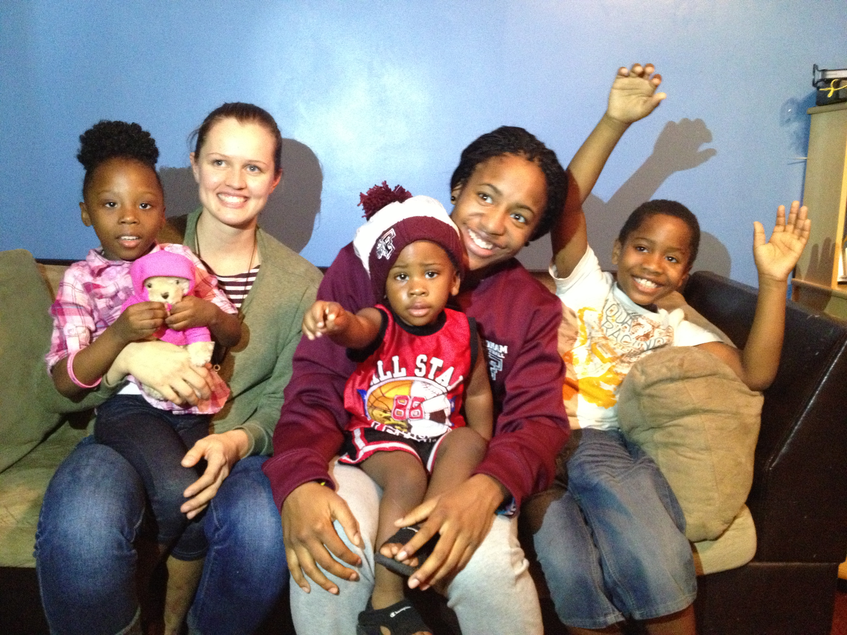 Fordham Forges Bond with 5-Year-Old Imani