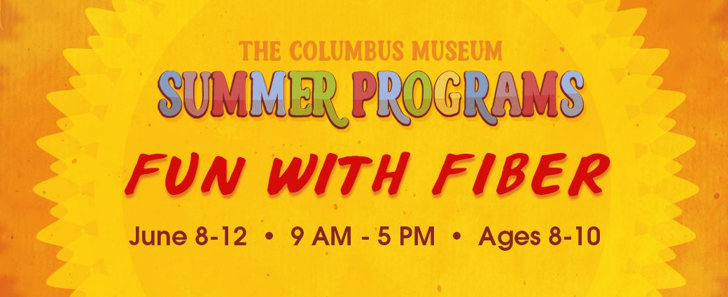 CANCELLED: Summer Camp: Fun with Fiber (Ages 8-10)