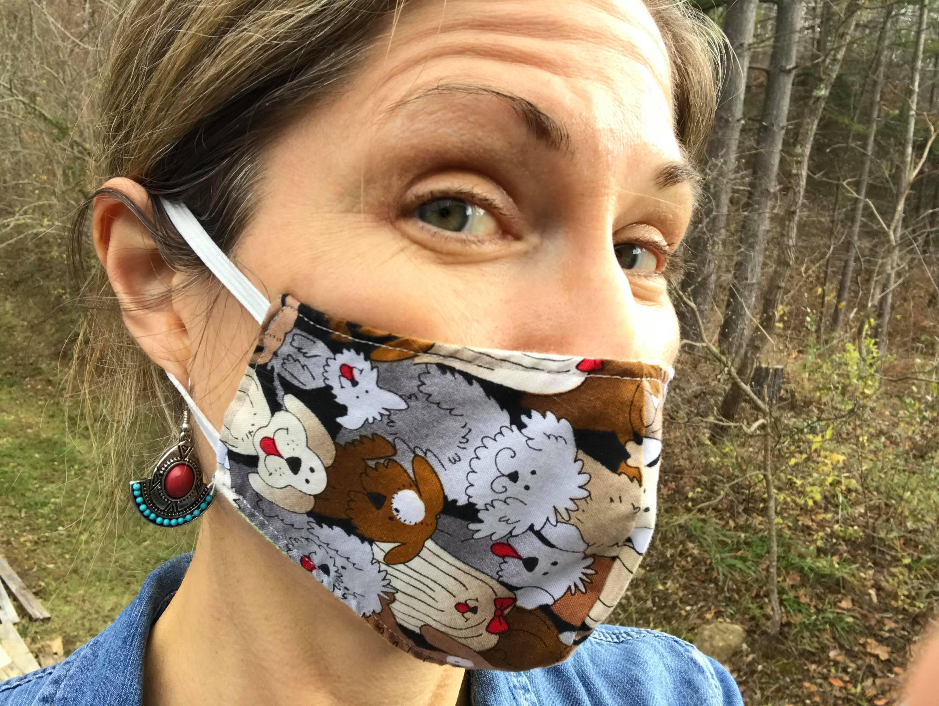 Puppy Face Masks