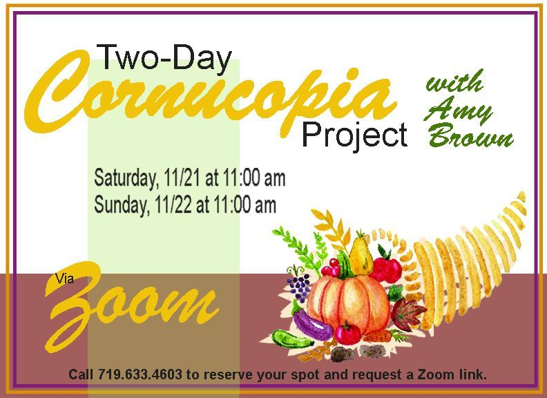 Two-Day Cornucopia Project Event
