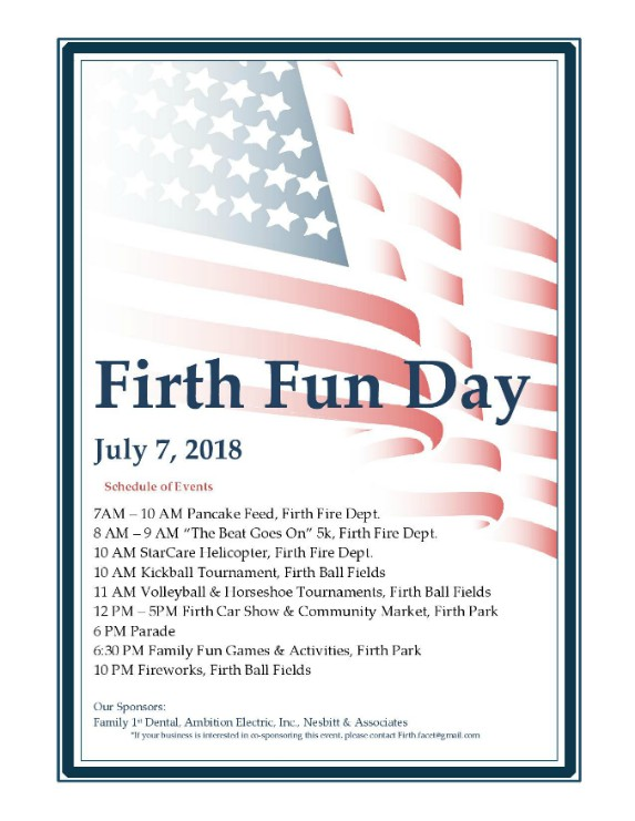 2018 Firth Fun Day