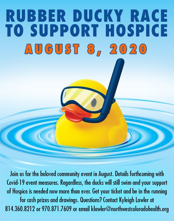 Rubber Ducky Race for Hospice - Craig