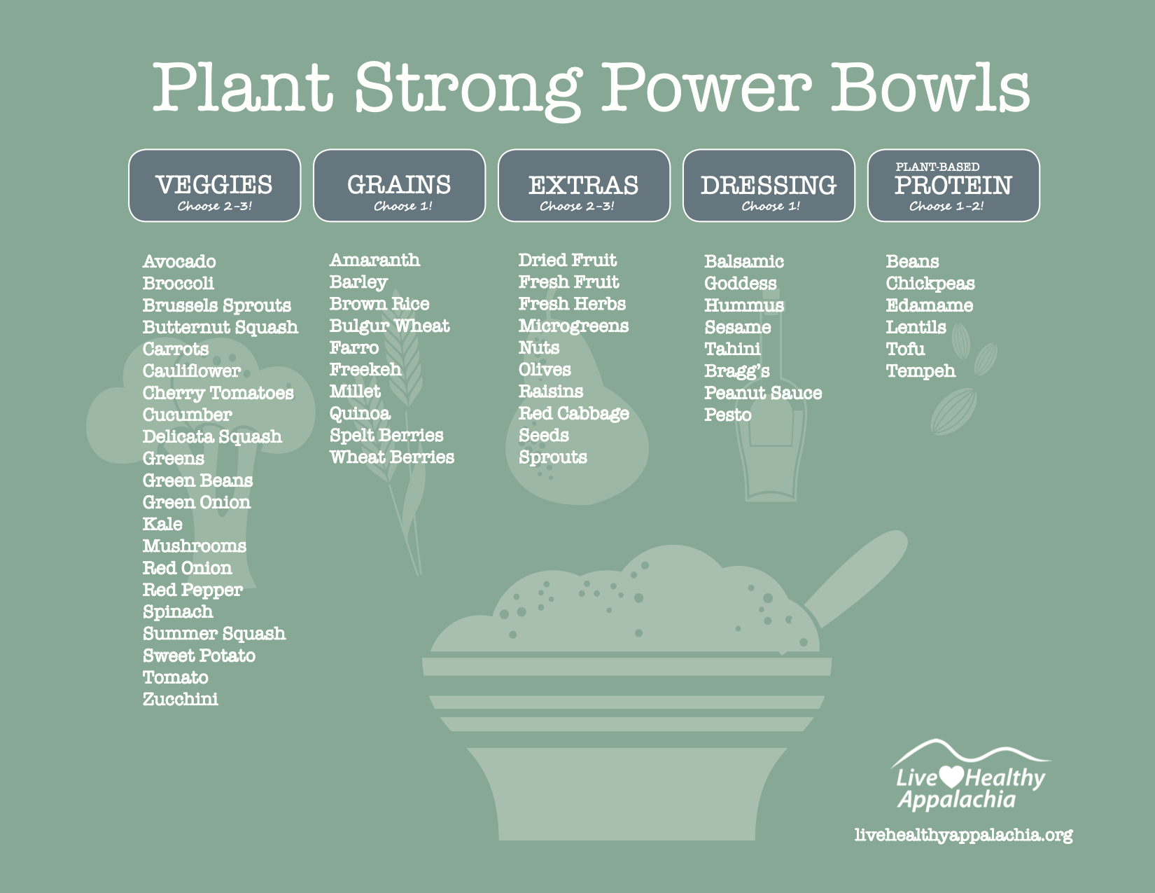 Plant Strong Power Bowl Flyer