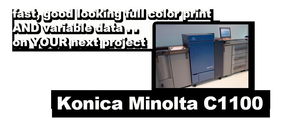 Konica Minolta C1100