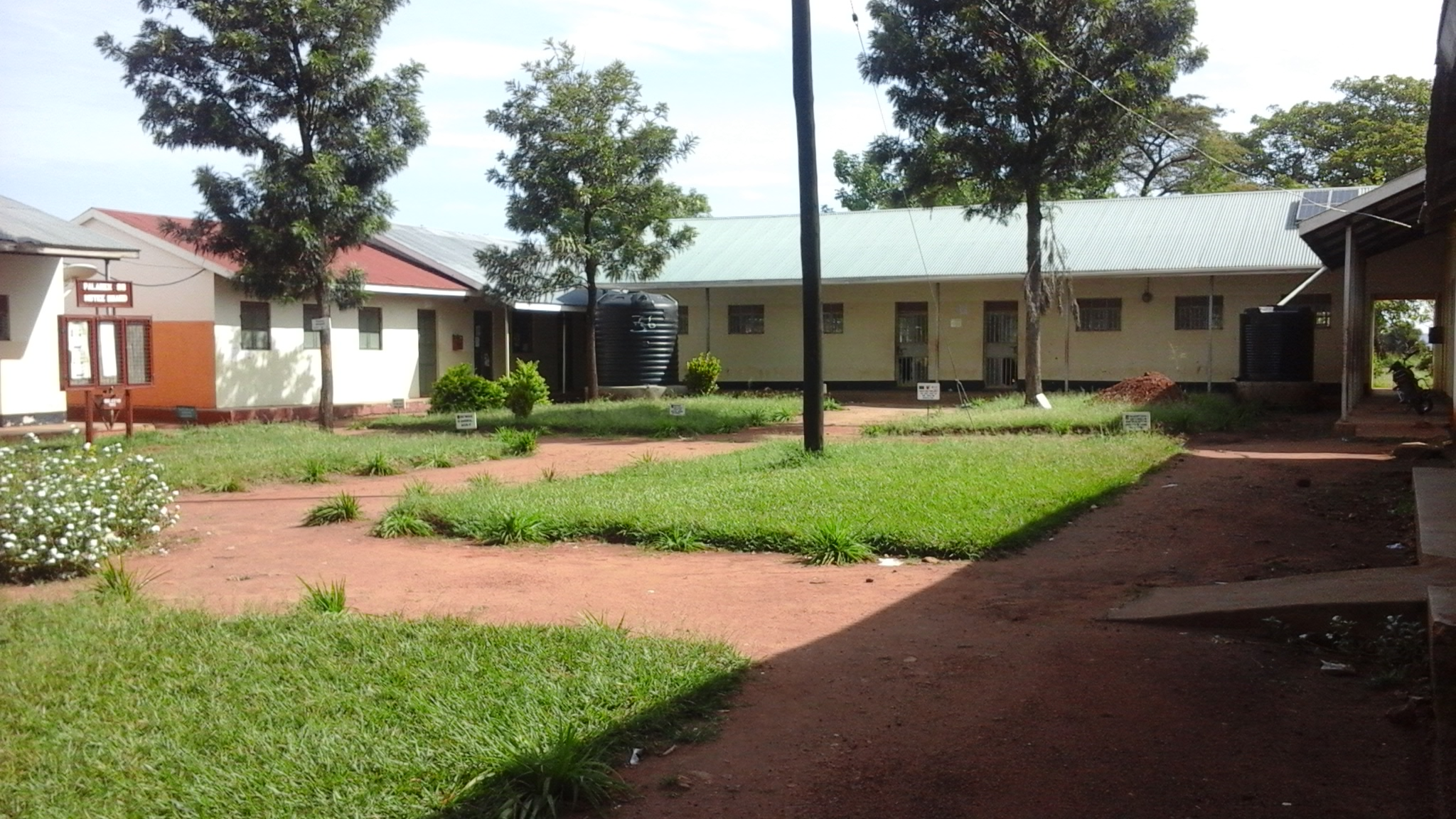 Courtyard photo of Palabek School