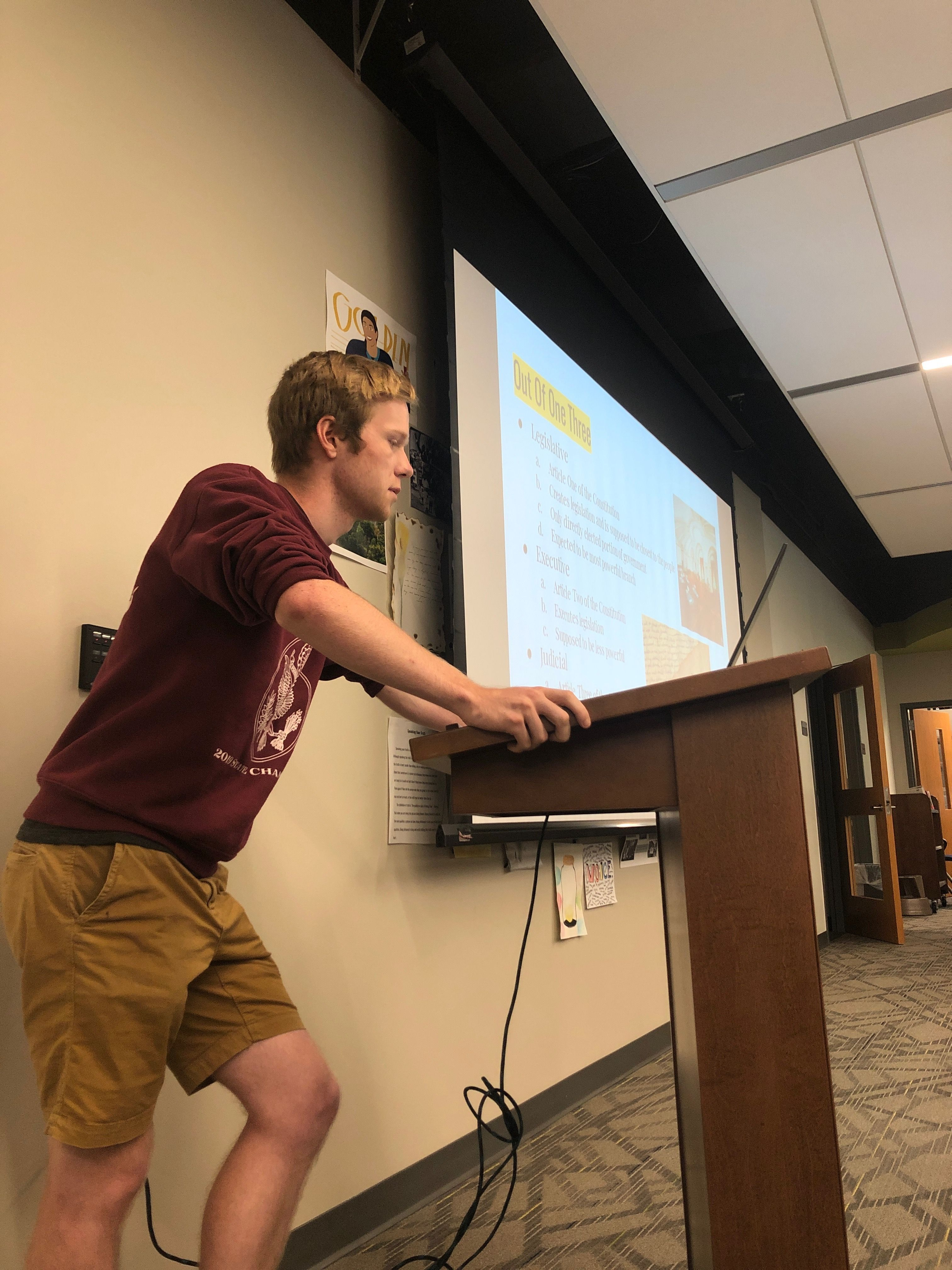 A Virtual Cup of Coffee with Luke Spitzley '20