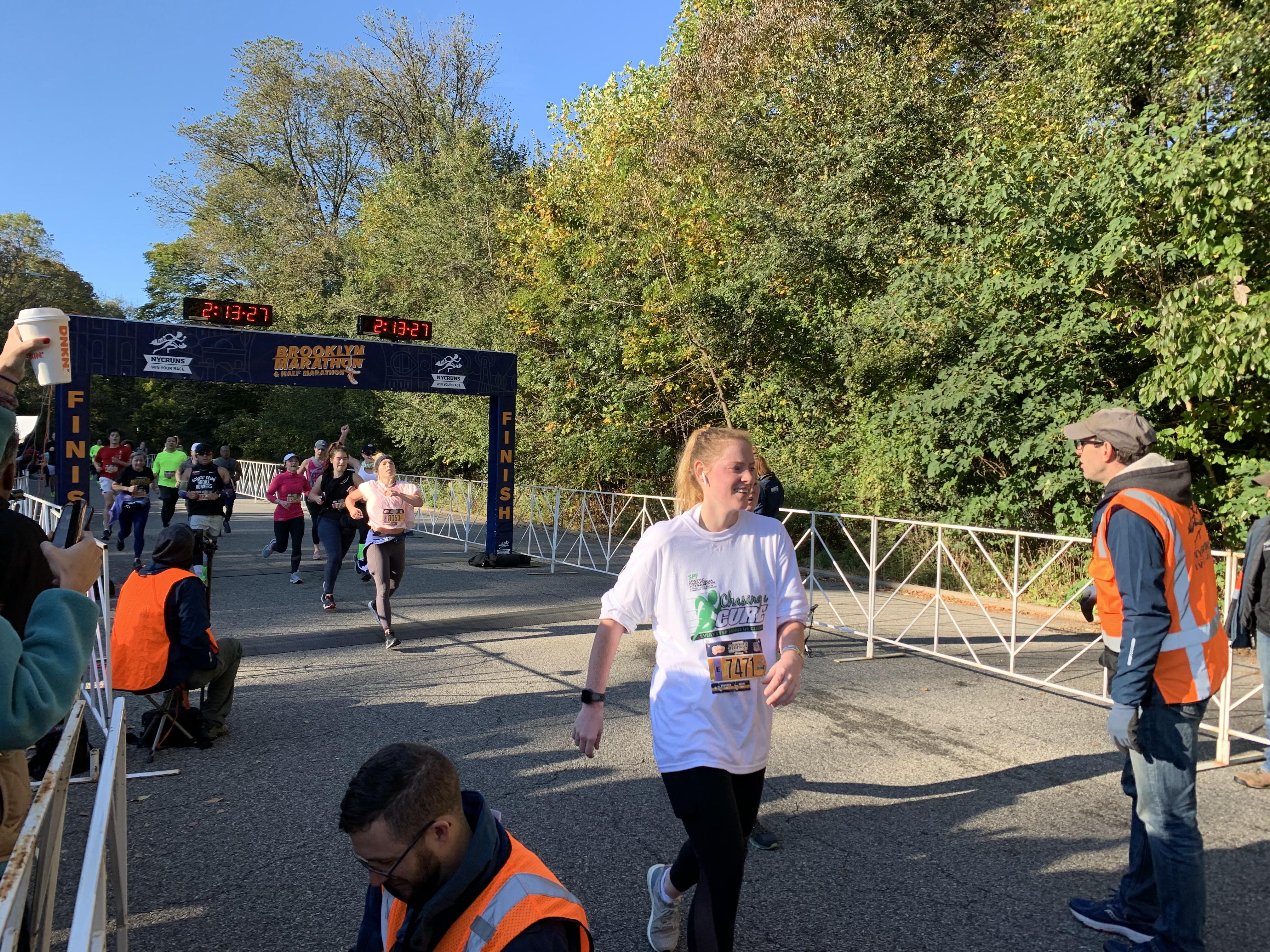 Meg Marren Runs the Brooklyn 1/2 Marathon