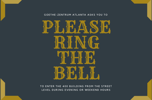 Please ring the bell...