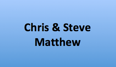 Chris & Steve Matthew