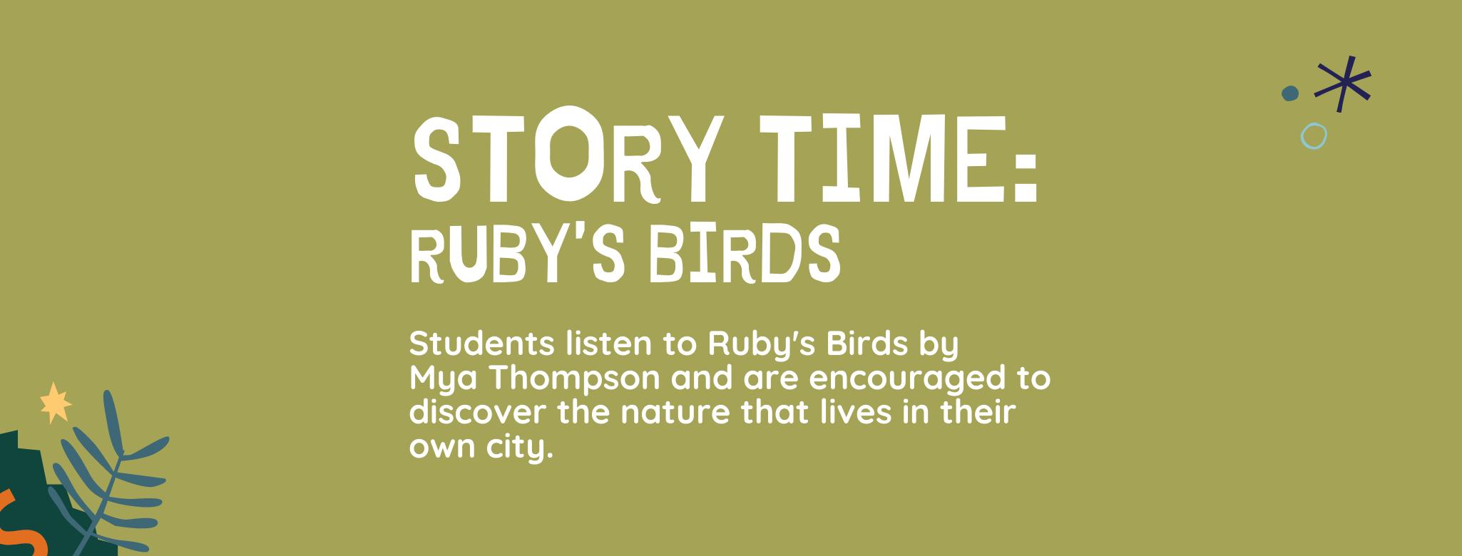 Story Time: Ruby's Birds