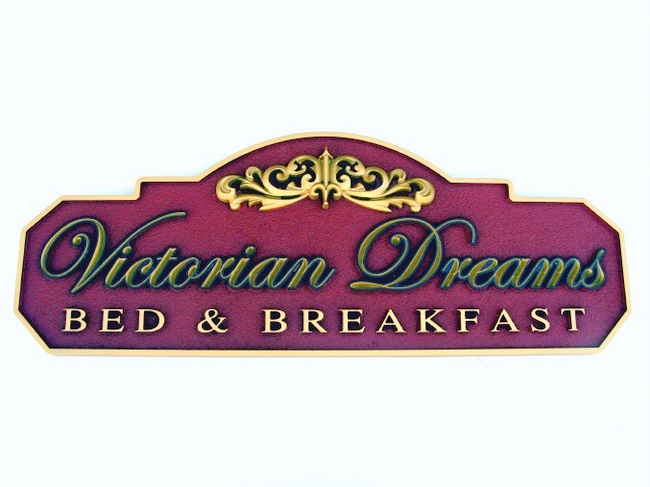 M2160 - Bed & Breakfast Victorian Sign