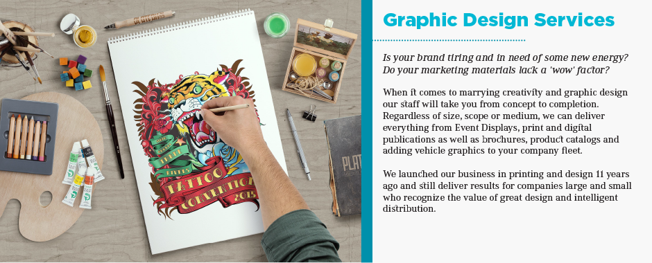Graphic Design Services Spotlight 2017