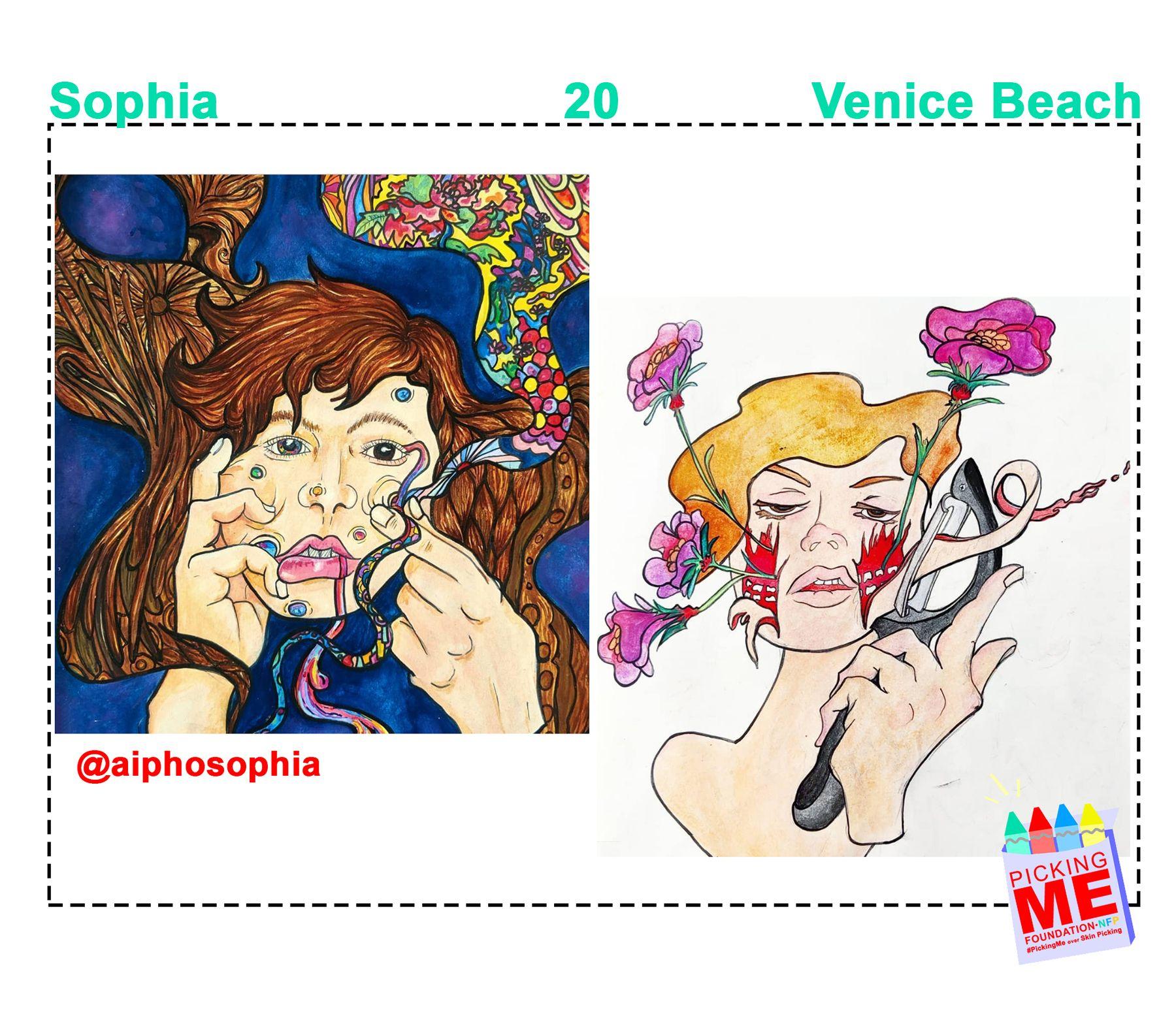 #DrawingWithDerma: Sophia