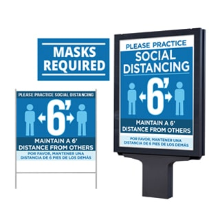Social Distancing Safety at Work