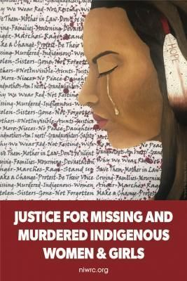 National Week of Action and National Day of Awareness for Missing and Murdered Indigenous Women and Girls