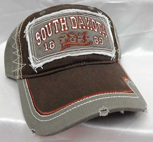 Hat-SD Distressed Hat