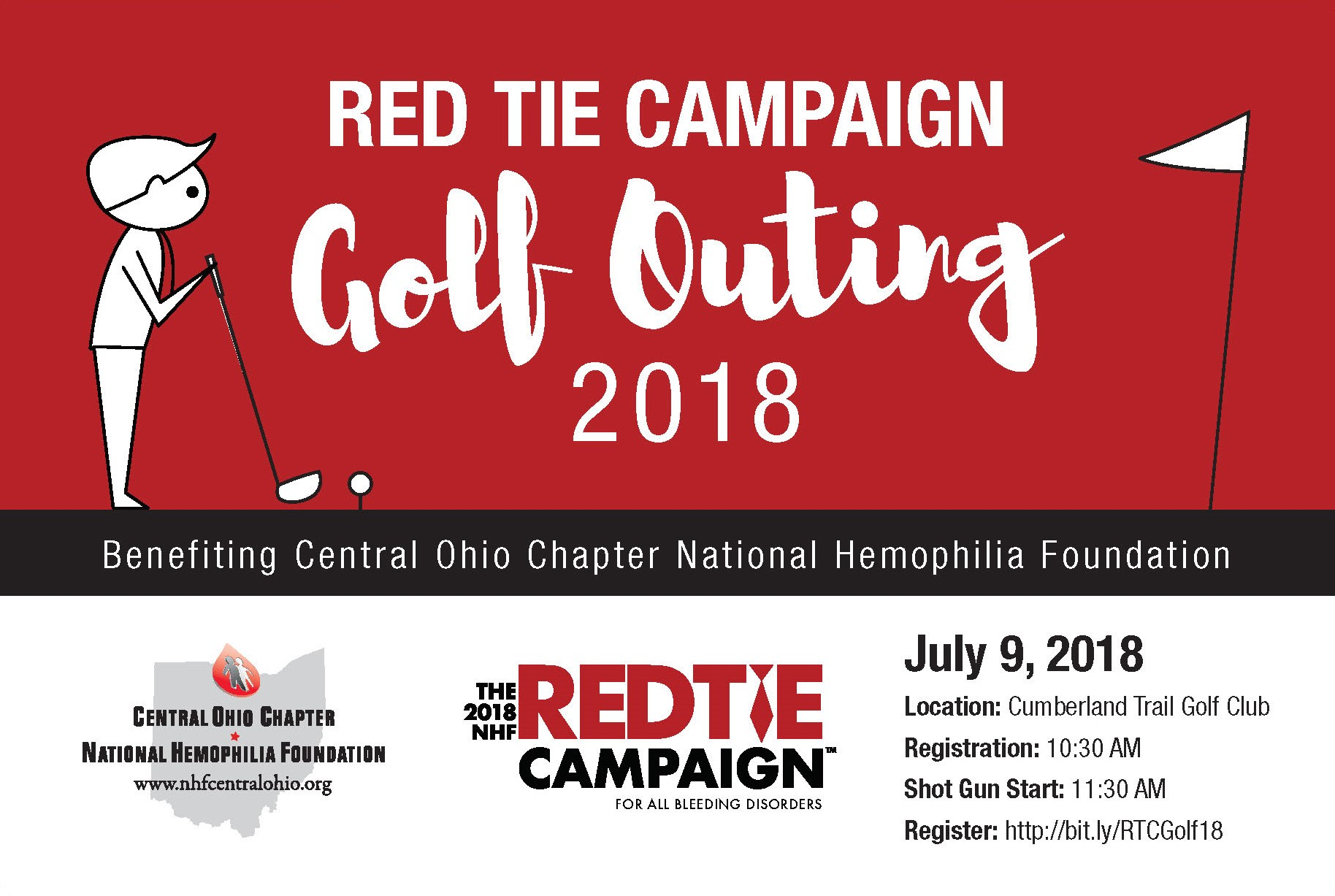 Red Tie Campaign Golf Outing
