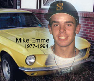 In loving memory of Mike Emme