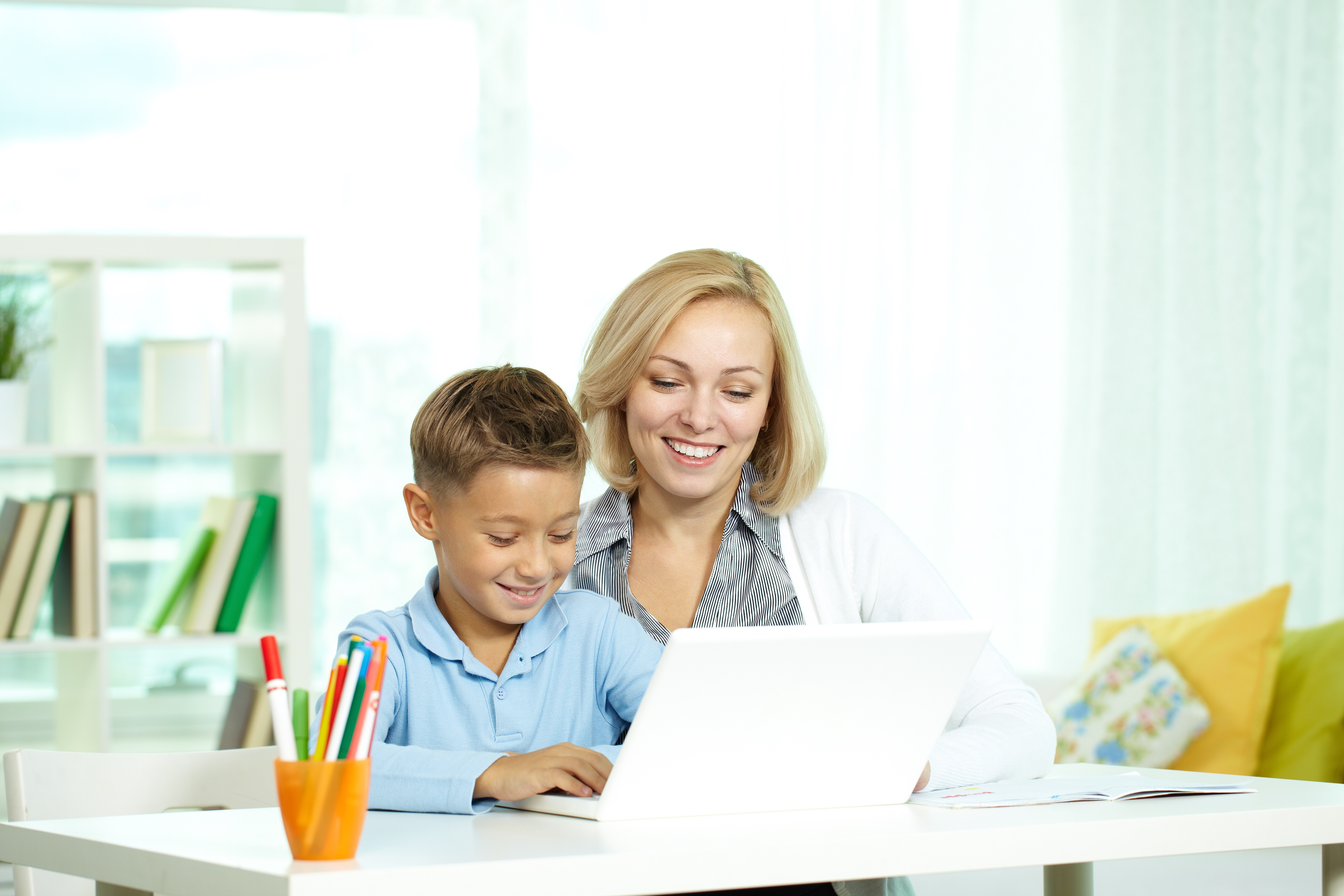 We work with homeschooling students.