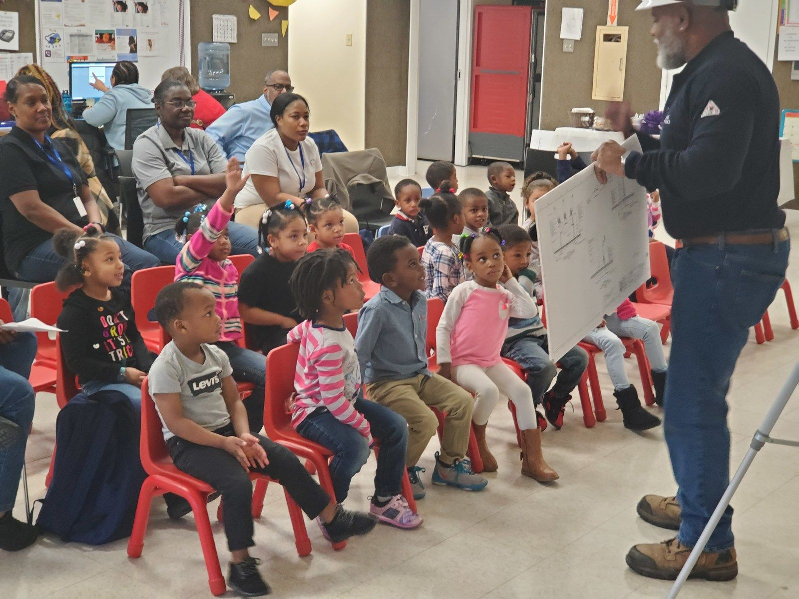 Head Start Winton Campus holds Career Day & Open Enrollment Fair