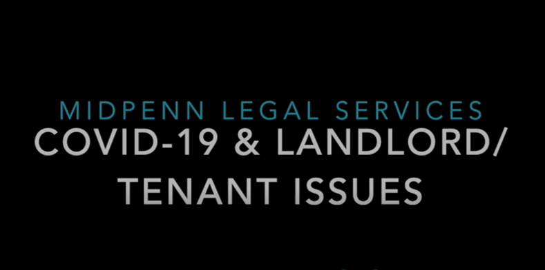 COVID-19 & Landlord/Tenant Issues