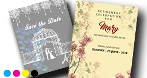 Postcards & Invites