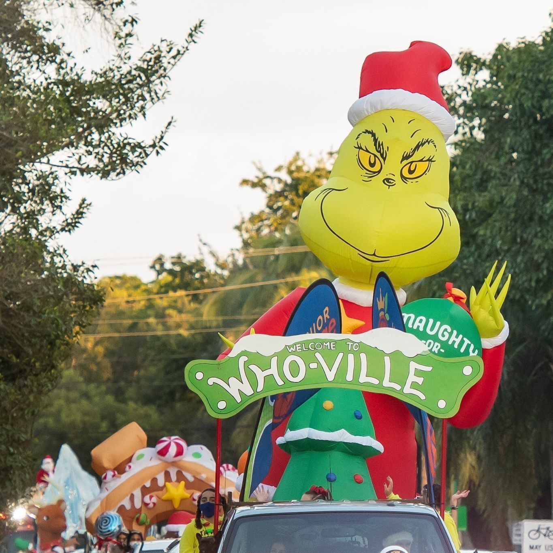 Spread Joy! Junior Orange Bowl Toy Drive procession