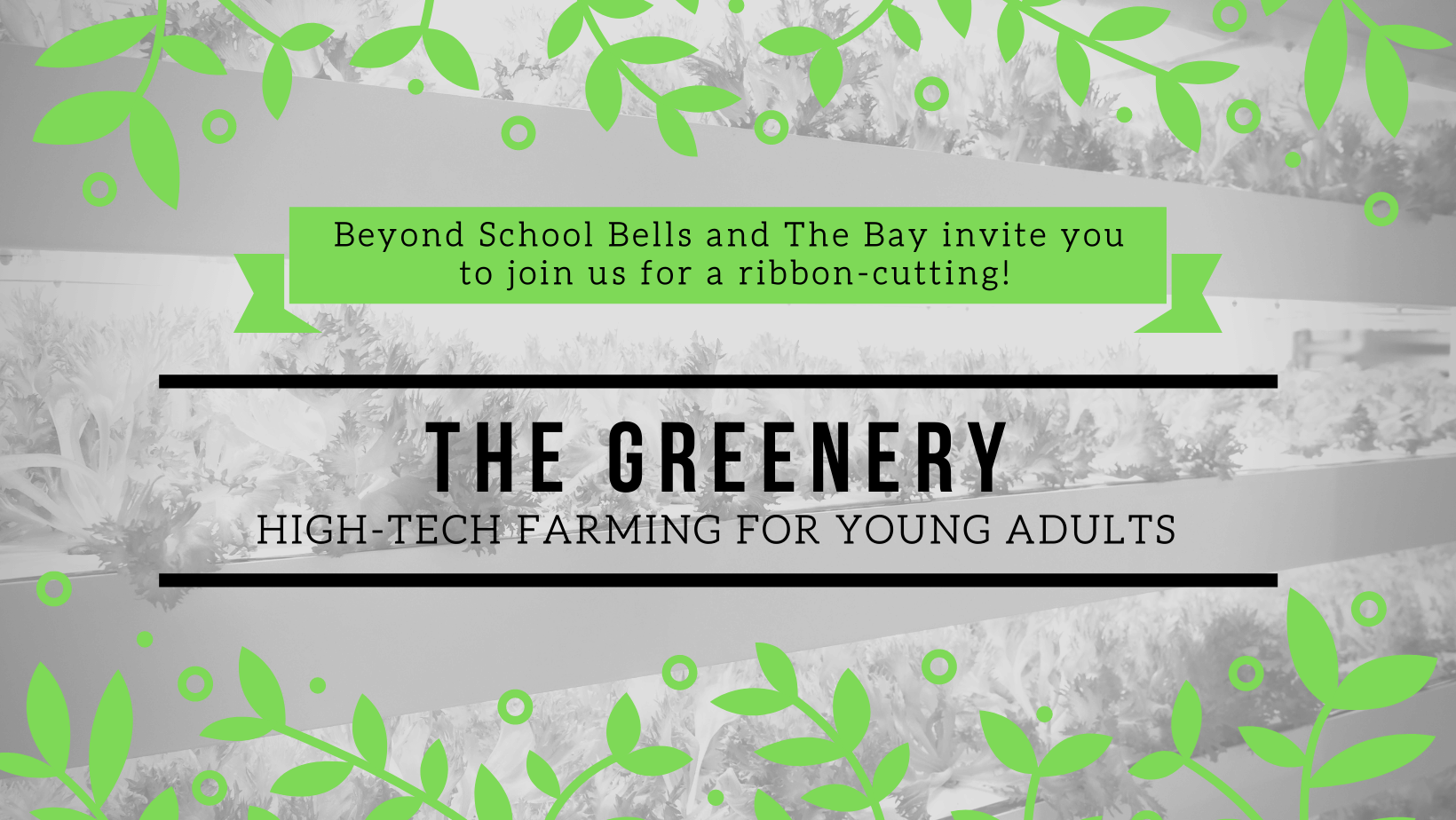 Ribbon-Cutting for The Greenery