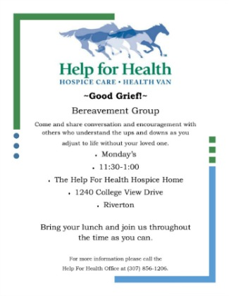 Bereavement Group time change