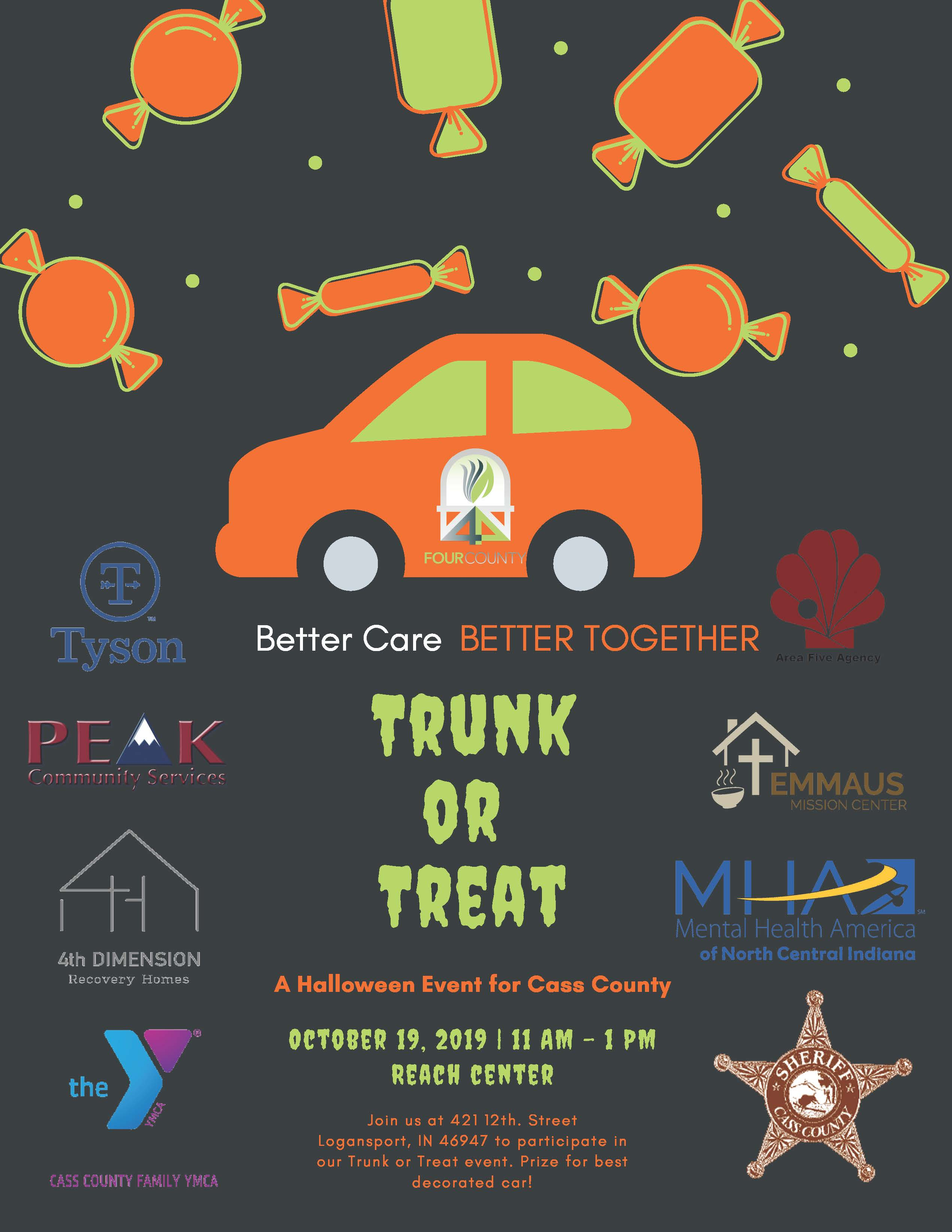 Trunk or Treat - Cass County