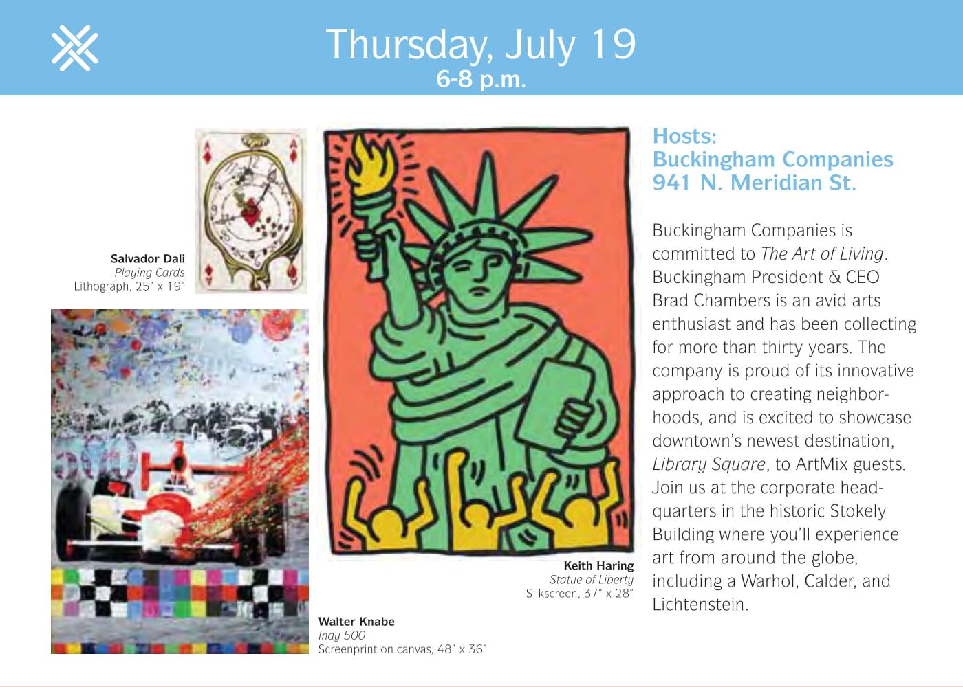 ArtMix Art & Home Tours: Buckingham Companies Offices