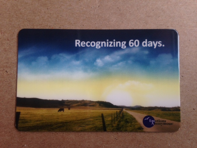 60 Day Recovery Card - NEW!