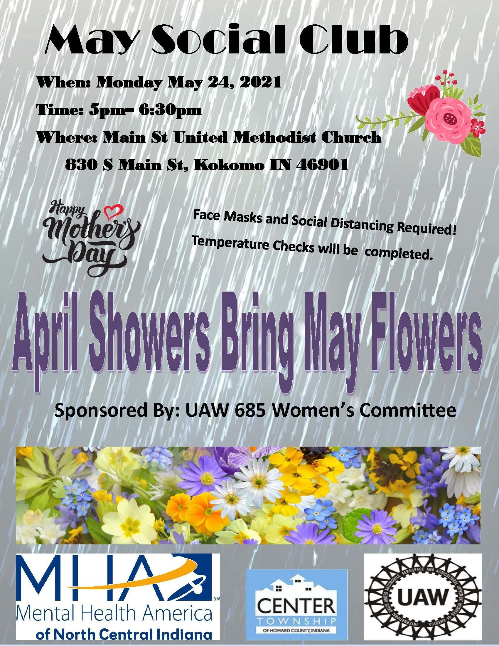 Social Club - Sponsored by UAW 685 Women's Committee