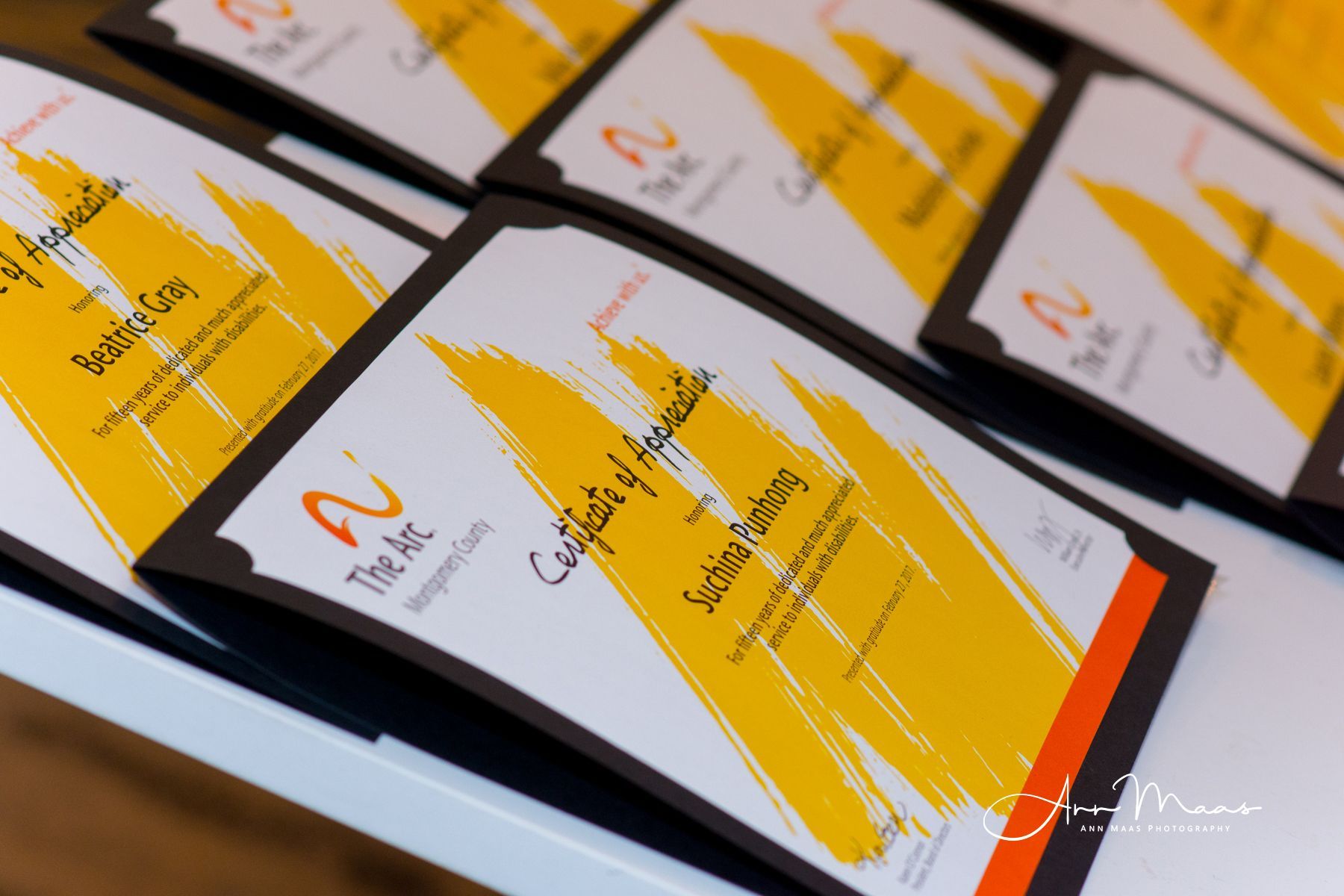 2017 Community, Staff & Volunteer Awards Ceremony