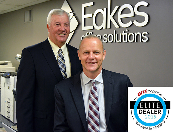 Eakes Honored as 2015 Elite Dealer by ENX Magazine