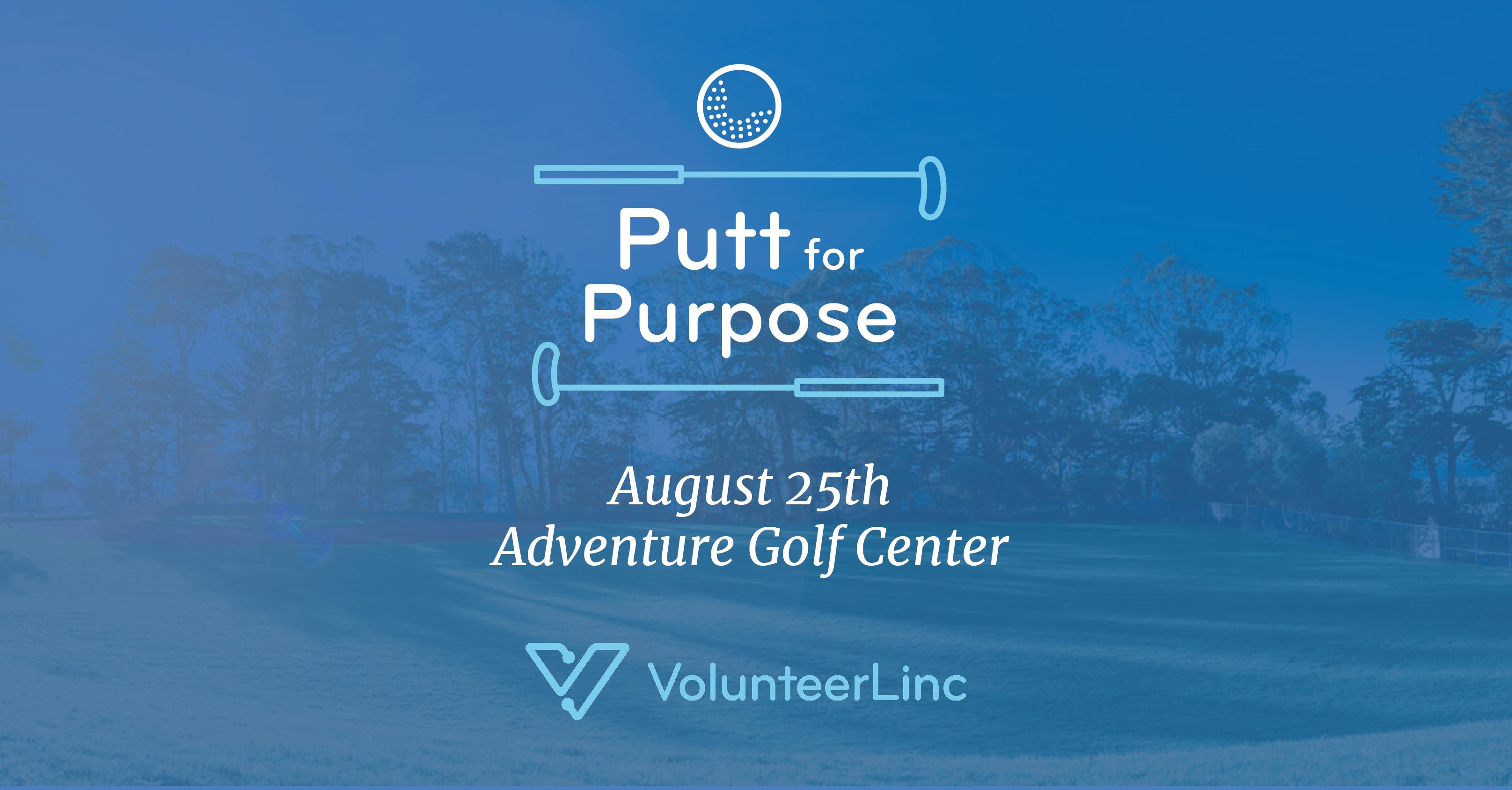VolunteerLinc Invites Golfers to Putt for Purpose